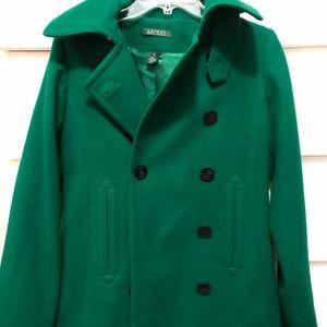 Ralph Lauren Emerald Green Coat- Size XS